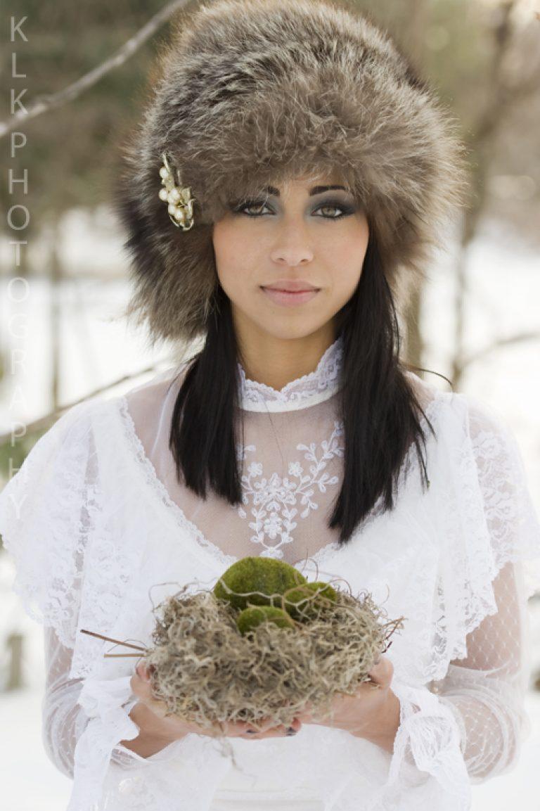 Winter Wonderland Bridal Fashion Shoot!
