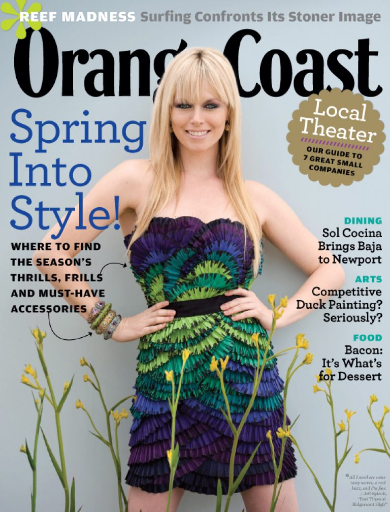 Orange Coast Magazine: March 2010 Spring Fashion Issue!