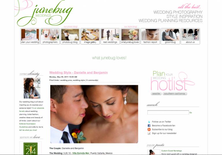 KLK PHOTOGRAPHY: Featured on Junebug Weddings!