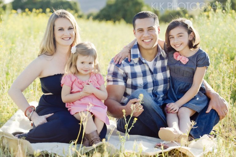 KLK Photography: Family Shoot in Field of Yellow Flowers!