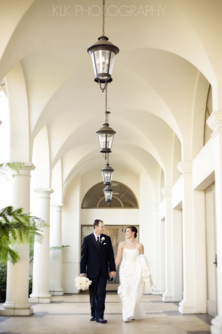 Southern California Resort Weddings: St. Regis Wedding Photography by KLK Photography