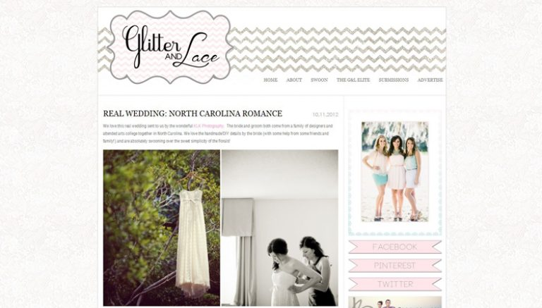 KLK Photography | North Carolina Wedding Featured on Glitter and Lace!