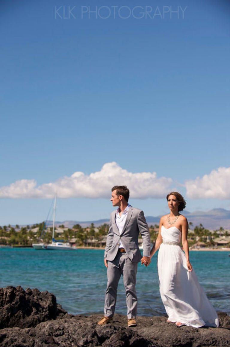 Kona Hawaii Wedding Photographer | Kristin & Garrett Waikoloa Wedding Teasers!