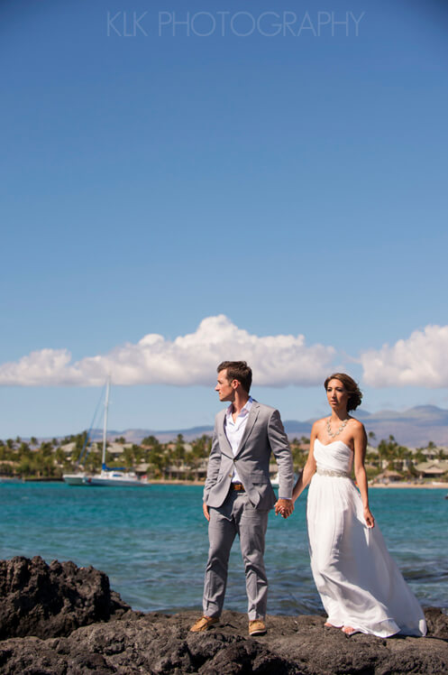 02_KLK Photography_AGA_Waikoloa Wedding Photographer