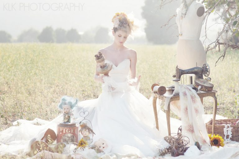 Amy Michelson Bridal Gowns | Bridal Fashion Shoot by KLK { PART II }