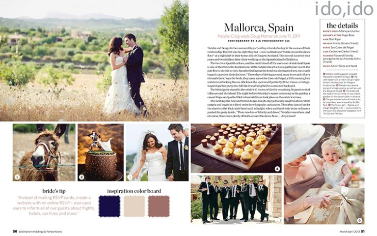 Destination Wedding in Mallorca Spain by KLK Photography | Part I
