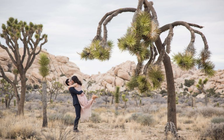 Claudia & Sibiao | Joshua Tree Engagement Shoot