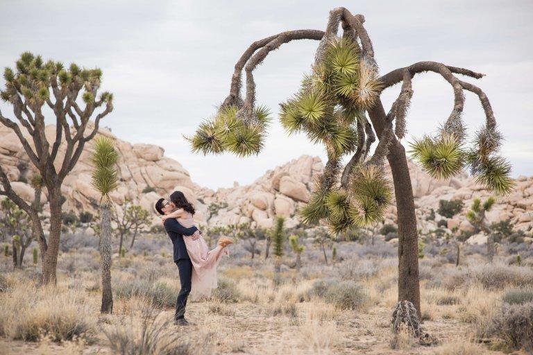 Claudia & Sibiao | Joshua Tree Engagement Shoot